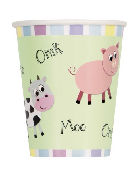 Animal Farm Paper Cups (8)